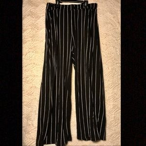 H&M Divided Striped Pants
